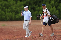 Robert Macintyre (SCO) on the 14th during the 1st round of the DP World Tour Championship, Jumeirah Golf Estates, Dubai, United Arab Emirates. 21/11/2019<br /> Picture: Golffile | Fran Caffrey<br /> <br /> <br /> All photo usage must carry mandatory copyright credit (© Golffile | Fran Caffrey)