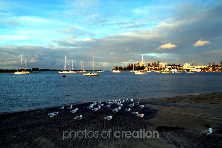 At the end of the Day in Port Macquarie NSW