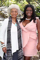 LOS ANGELES - AUG 20:  Nichelle Nichols,  Julia Pace Mitchell at the Julia Pace Mitchell Bridal Shower at the W Hotel - Westwood on August 20, 2011 in Westwood, CA