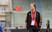 20180410 - FERRARA , ITALY : Belgian Diede Lemey pictured during the female soccer game between Italy and the Belgian Red Flames , the fifth game in the qualificaton for the World Championship qualification round in group 6 for France 2019, Tuesday 10 th April 2018 at Stadio Paolo Mazza / Stadio Comunale in Ferrara , Italy . PHOTO SPORTPIX.BE | DAVID CATRY