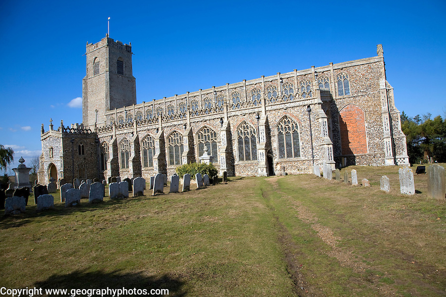 Blythburgh church, Suffolk, England