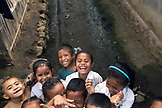 INDONESIA, Flores, young school children play in Waturaka Village