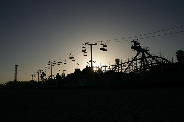 May 21, 2007; Santa Cruz, CA, USA; Santa Cruz Beach Boardwalk in Santa Cruz, CA. Photo by: Phillip Carter