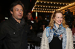 Marc Schauer and Laura Linney attending the opening night performance for 'Springsteen on Broadway' at The Walter Kerr Theatre on October 12, 2017 in New York City.