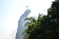 RIO DE JANEIRO, RJ, 08.03.2016 - CENA-RJ - Vista do Cristo Redentor na cidade do Rio de Janeiro nesta terça-feira, 08. (Foto: Humberto Ohana/Brazil Photo Press)