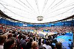 26.08.2017, Hamburg, Stadion Am Rothenbaum<br />Beachvolleyball, World Tour Finals<br /><br />†bersicht / Uebersicht Stadion Am Rothenbaum / Feature Zuschauer <br /><br />  Foto © nordphoto / Kurth
