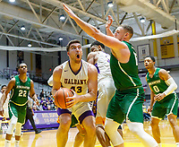 University at Albany men's basketball defeats Binghamton University 71-54  at the  SEFCU Arena, Feb. 27, 2018.  Greg Stire (#43). (Bruce Dudek / Cal Sport Media/Eclipse Sportswire)