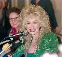 ARCHIVE: LONDON, UK:  29th March 1988: Dolly Parton.<br /> File photo © Paul Smith/Featureflash