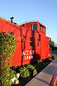 Stock Photo of train caboose