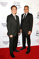 BURBANK - APR 27: Steve Lee, Moises Carrillo at the Faith, Hope and Charity Gala hosted by Catholic Charities of Los Angeles at De Luxe Banquet Hall on April 27, 2019 in Burbank, CA