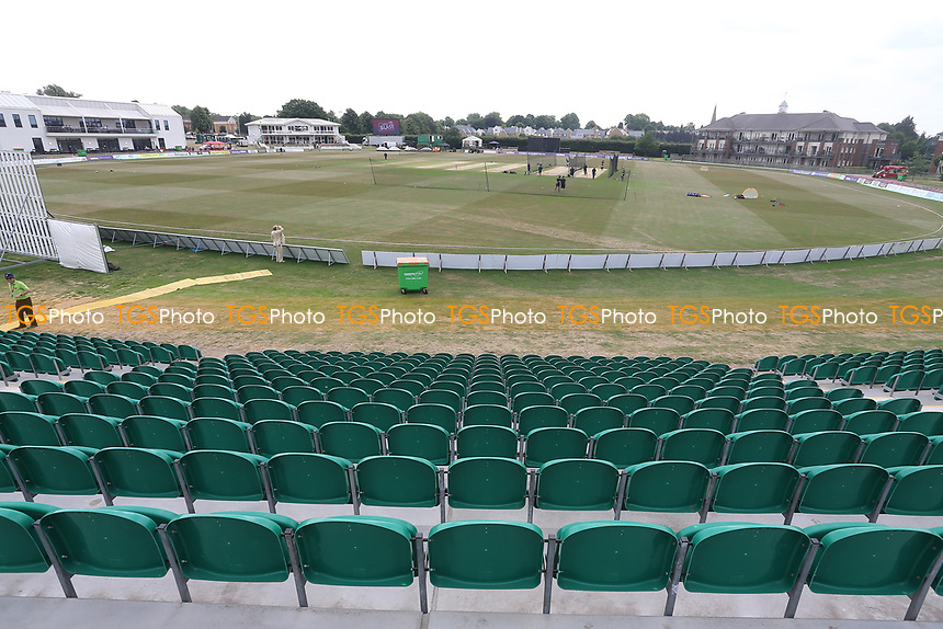 General view of the ground ahead of Kent Spitfires vs Essex Eagles, NatWest T20 Blast Cricket at The County Ground on 9th July 2017