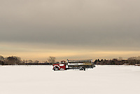 Potato Truck in the Snow<br />