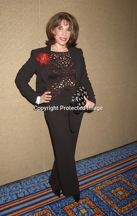 Kate Linder                                           ..at the Ninth Annual Daytime Television salutes St. Jude Children's Research Hospital benefit in New York City on ..October 10, 2003  at the Marriott Marquis Hotel. ..Photo by Robin Platzer, Twin Images