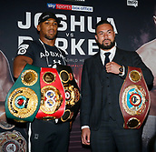 2018 Joseph Parker and Anthony Joshua fight press conference Jan 16th