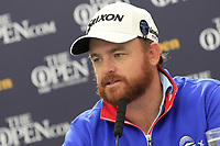J.B. Holmes (USA) press conference after shooting -5 during Thursday's Round 1 of the 148th Open Championship, Royal Portrush Golf Club, Portrush, County Antrim, Northern Ireland. 18/07/2019.<br /> Picture Eoin Clarke / Golffile.ie<br /> <br /> All photo usage must carry mandatory copyright credit (© Golffile | Eoin Clarke)