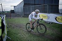 Helen Wyman (GBR/Kona)<br /> <br /> Koksijde CX World Cup 2014