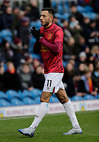 2nd February 2020; Turf Moor, Burnley, Lanchashire, England; English Premier League Football, Burnley versus Arsenal; Dwight McNeil of Burnley finishes his warm up - Strictly Editorial Use Only. No use with unauthorized audio, video, data, fixture lists, club/league logos or 'live' services. Online in-match use limited to 120 images, no video emulation. No use in betting, games or single club/league/player publications