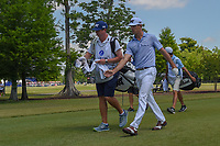 Billy Horschel (USA) heads down 3 during Round 1 of the Zurich Classic of New Orl, TPC Louisiana, Avondale, Louisiana, USA. 4/26/2018.<br /> Picture: Golffile | Ken Murray<br /> <br /> <br /> All photo usage must carry mandatory copyright credit (&copy; Golffile | Ken Murray)
