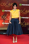 Cristina Brondo attends to the photocall before the cocktail of the night of the Oscar of Movistar+ at Gran Teatro Principe Pio in Madrid. February 28, 2016. (ALTERPHOTOS/BorjaB.Hojas)