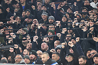 Naples fans raise their belts in protest<br /> Roma 11-01-2020 Stadio Olimpico <br /> Football Serie A 2019/2020 <br /> SS Lazio - Napoli SSC<br /> Photo Cesare Purini / Insidefoto