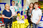 Breda Duggan (Clinicial Placement Co-Ordinator), Amy Duggan (Nursing Student), Grainne Rohan (CNM 2) and Mary Morris (Staff Nurse) celebrating the International Nurses and Midwifes Day at UHK on Monday