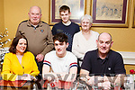 Jack O'Connor of Ballymac, seated front centre, celebrates his 18th birthday with family in the Brogue Inn on Friday last. Seated l to r: Lorraine, Jack and Kieran O'Connor. Standing l to r: Sean and Margaret O Connor and Kyle O'Connor