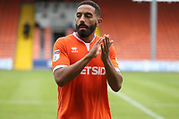 Blackpools' Liam Feeney at the end of todays match<br /> <br /> Photographer Rachel Holborn/CameraSport<br /> <br /> The EFL Sky Bet League One - Blackpool v Bradford City - Saturday September 8th 2018 - Bloomfield Road - Blackpool<br /> <br /> World Copyright &copy; 2018 CameraSport. All rights reserved. 43 Linden Ave. Countesthorpe. Leicester. England. LE8 5PG - Tel: +44 (0) 116 277 4147 - admin@camerasport.com - www.camerasport.com