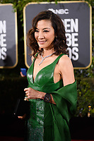 Michelle Yeoh attends the 76th Annual Golden Globe Awards at the Beverly Hilton in Beverly Hills, CA on Sunday, January 6, 2019.<br /> *Editorial Use Only*<br /> CAP/PLF/HFPA<br /> Image supplied by Capital Pictures