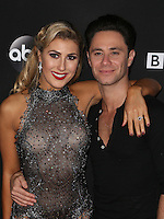 "Los Angeles, CA - NOVEMBER 22: Emma Slater, Sasha Farber, At ABC's ""Dancing With The Stars"" Season 23 Finale At The Grove, California on November 22, 2016. Credit: Faye Sadou/MediaPunch"