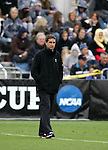 Portland head coach Garrett Smith. The University of Portland Pilots defeated the UCLA Bruins 4-0 to win the NCAA Division I Women's Soccer Championship game at Aggie Soccer Stadium in College Station, TX, Sunday, December 4, 2005.
