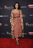 06 January 2018 - Beverly Hills, California - Eiza Gonzalez. 2018 BAFTA Tea Party held at The Four Seasons Los Angeles at Beverly Hills in Beverly Hills. <br /> CAP/ADM/BT<br /> &copy;BT/ADM/Capital Pictures