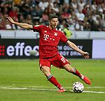 12.08.2018, Commerzbank - Arena, Frankfurt, GER, Supercup, Eintracht Frankfurt vs FC Bayern M&uuml;nchen , <br />DFL REGULATIONS PROHIBIT ANY USE OF PHOTOGRAPHS AS IMAGE SEQUENCES AND/OR QUASI-VIDEO.<br />im Bild<br />Robert Lewandowski (M&uuml;nchen) erzielt das Tor zum 3:0<br /> <br /> Foto &copy; nordphoto / Bratic