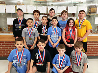 Photo Submitted McDonald County Youth Wrestling Club members qualifying for the state tournament in Kansas City.