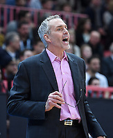 Basketball  1. Bundesliga  2016/2017  Hauptrunde  17. Spieltag  30.12.2016 Walter Tigers Tuebingen - FRAPORT SKYLINERS Frankfurt Trainer Gordon Herbert (Frankfurt)