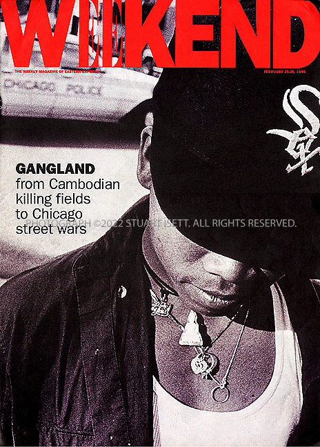 Cambodian Gangs in the USA. Eastern Express Magazine (HK)