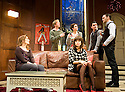 The Priory by Michael Wynne,directed by Jeremy Herrin.With Charlotte Riley as Laura [in front], Jessica Hynes as Kate,Rupert Penry-Jones as Carl, Rachael Stirling as Rebecca,, Alastair Mackenzie as Ben, Joseph Millson as Daniel. Opens at The Royal Court Theatre on 27/11/09.  Credit Geraint Lewis