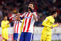 Mario Mandzukic of Atletico de Madrid during La Liga match between Atletico de Madrid and Villarreal at Vicente Calderon stadium in Madrid, Spain. December 14, 2014. (ALTERPHOTOS/Caro Marin) /NortePhoto
