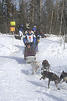 Sven Haltmann Anchorage Start Iditarod 2008.