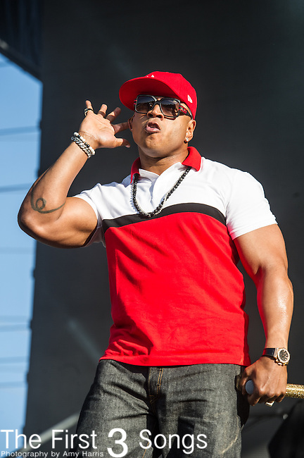 LL Cool J performs at the 2nd Annual BottleRock Napa Festival at Napa Valley Expo in Napa, California.