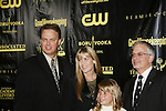 Bindi Irwin (Bindi The Jungle Girl) and her mom Terri with Jim Romanovich  (President World Wide Media and Entertainment) and Frank Radice (NATAS President) (R) at the 36h Annual Daytime Entertainment Emmy® Awards Nomination Party - Sponsored By: Good Housekeeping and The National Academy of Television Arts & Sciences (NATAS) on Thursday, May 14, 2009 at Hearst Tower, New York City, New York. (Photo by Sue Coflin/Max Photos)                                 ..