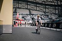 Michal Kwiatkowski (POL/SKY) on his first passage into the Orange Vélodrome during recon<br /> <br /> 104th Tour de France 2017<br /> Stage 20 (ITT) - Marseille › Marseille (23km)