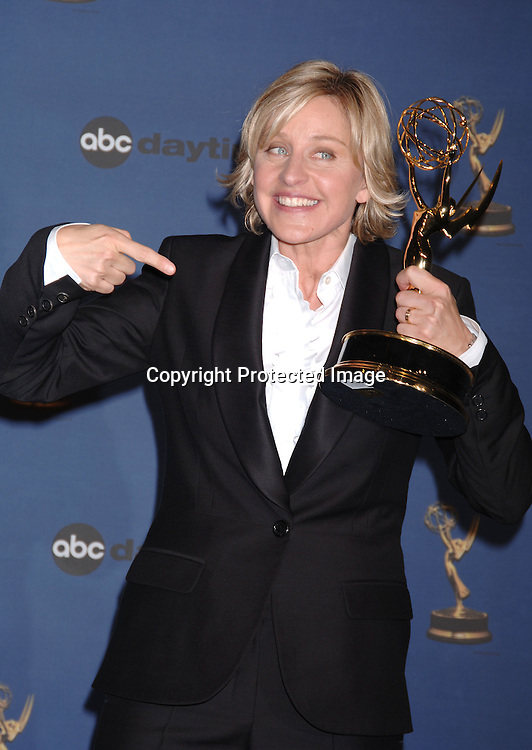Ellen Degeneres ..in the Press Room  at the 33rd Annual Daytime Emmy Awards on April 28, 2006 at The Kodak Theatre in Hollywood, Californina. ..Robin Platzer, Twin Images