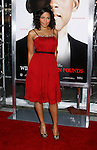 """WESTWOOD, CA. - December 16: Actress Sanaa Lathan arrives at the Los Angeles premiere of """"Seven Pounds"""" at Mann's Village Theater on December 16, 2008 in Los Angeles, California."""