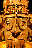 Dios de Agua from Tehuacan area, Puebla, Mexico. Museo Nacional de Antropologia, Chapultepec Park, Mexico City.