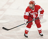 Shannon Doyle (BU - 6) -  The Boston College Eagles defeated the visiting Boston University Terriers 5-0 on BC's senior night on Thursday, February 19, 2015, at Kelley Rink in Conte Forum in Chestnut Hill, Massachusetts.