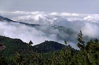 Blick vom Pico (Pozo) de las Nieves, Gran Canaria, Kanarische Inseln, Spanien