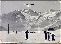 BNPS.co.uk (01202 558833)<br /> Pic: Bellmans/BNPS<br /> <br /> Training in the Alps before heading to Norway.<br /> <br /> A fascinating trove of SAS records including some of the first photographs of the elite force which have never been seen before has been unearthed. <br /> <br /> The extensive assortment, also including medals and documents, was accumulated by war hero Lance Corporal William James Cooke at the end of World War Two. <br /> <br /> Remarkable images of Cooke's previously unrevealed wartime exploits show him serving behind enemy lines in occupied France and assisting with the liberation of Norway. <br /> <br /> His accomplishments have come to light after a family member presented the bequeathed collection to Hampshire-based auctioneer Bellmans, which will sell it tomorrow.