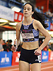 Ellen Byrnes of Sacred Heart Academy (Hempstead) competes in the girls 1,600 meter sprint medley relay during the New Balance Indoor Nationals at The Armory in New York, NY on Saturday, March 10, 2018.