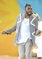 NEW YORK, NY - September 2:  Jason Derulo performs in Central Park at Rumsey Playfield as part of the Good Morning America Summer Concert Series on September 2, 2016 in New York City .  Photo Credit:John Palmer/ MediaPunch