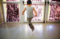 Kindergarten run by a voluntary association, district Zen, Palermo.<br /> Asilo d'infanzia gestito da un'organizzazione laica di volontariato, quartiere Zen, Palermo.